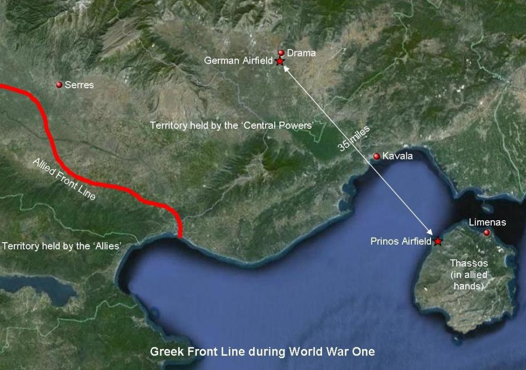 Wreckage of missing 'First World War' plane found on Thassos